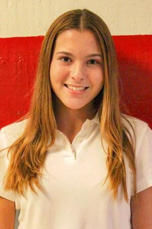 Ana Wolfermann, Freshmen Class Secretary