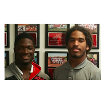 Shakur Cooper and Gee Stanley are this week's athletes of the week.