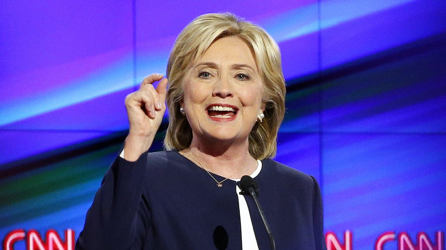 Hillary+Clinton+came+out+on+top+in+the+first+Democratic+debate.