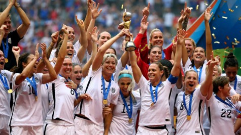 Some of the best soccer players in the world are women.