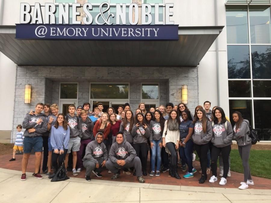 Juniors visit Emory University!