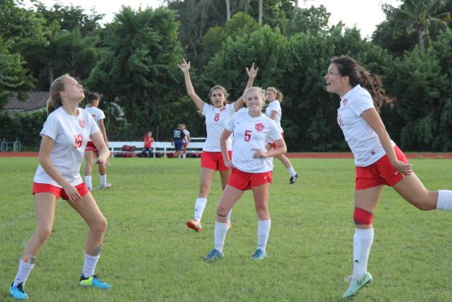Girls Varsity Soccer Dominates American