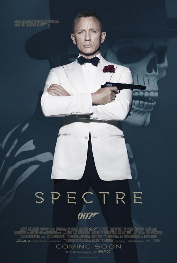 Daniel Craig in the poster for Spectre