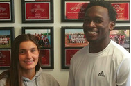 Junior Hannah Cordes and Senior Amir Rasul are this week's athletes of the week.