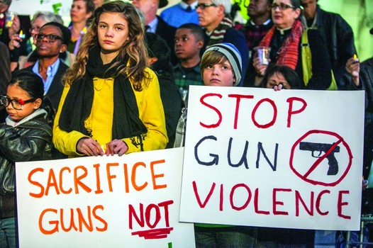 The issue of gun control in our country and around the world has been a heated subject of debate.