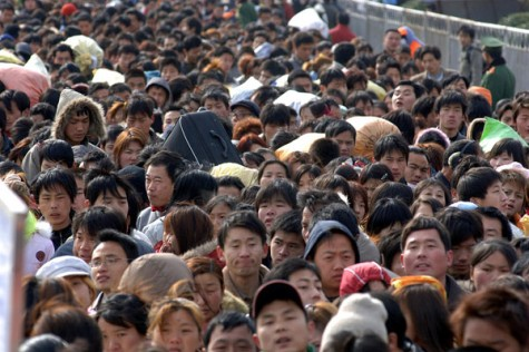 It can get quite difficult to move from place to place in China due to their large population.