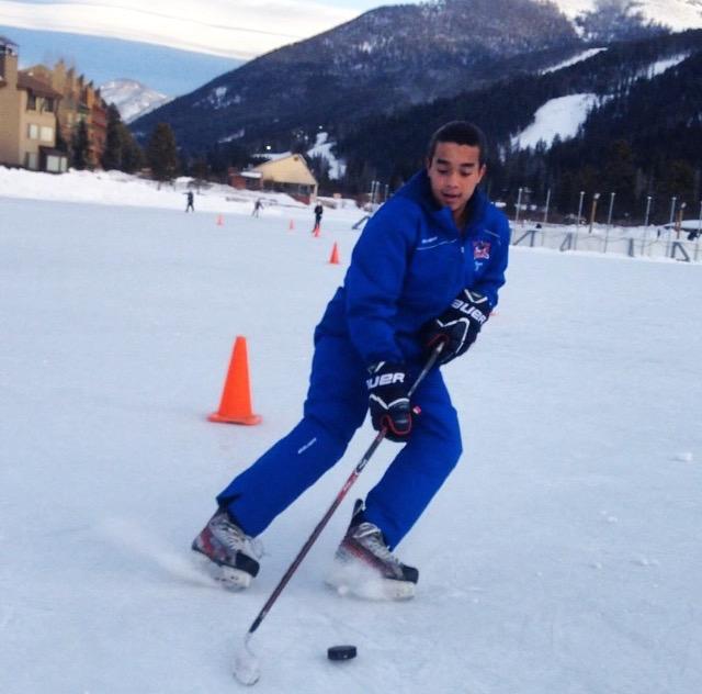 Thomas+Mikell+training+in+Keystone%2C+Colorado.+