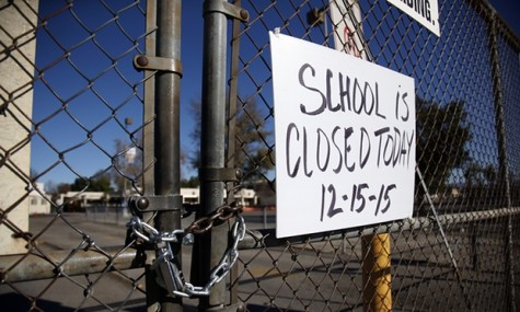 Schools were closed due to bomb threat in LA.