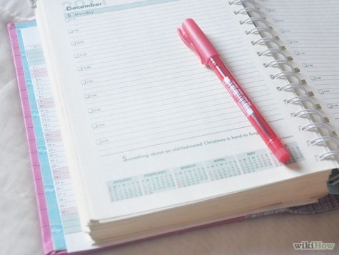 Having an agenda can help you become better at time management.