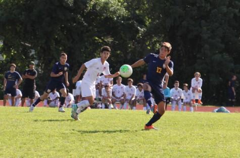 Gables Boys Soccer Takes on Coral Park 5-2