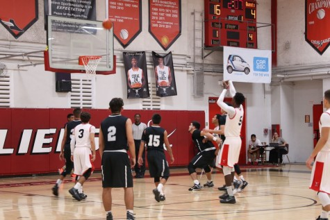 Gables had a dominant night against the Ferguson Falcons and easily won both the JV and varsity games.