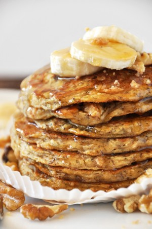 Try banana pancakes for a healthy and great alternative to everyday pancakes.