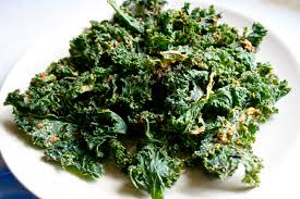 Kale chips serve as great snack alternatives to normal salty snacks.