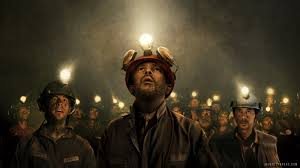 In the movie, the faces of the miners when they see that the cave-in has blocked the exit.