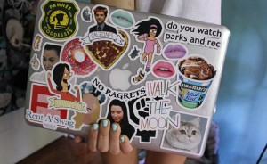 You can easily personalize your laptop with stickers of everything you love.