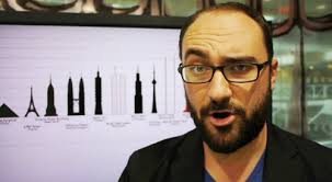 Here is Michael Stevens in one of his videos with one of his classic expressions.