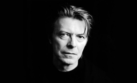 David Bowie less than a year before his untimely death.