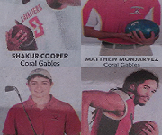 Fall Athletes Ranked First Team All-Dade