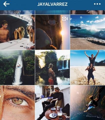 Jay Alvarrez documents his life in photos through his Instagram account