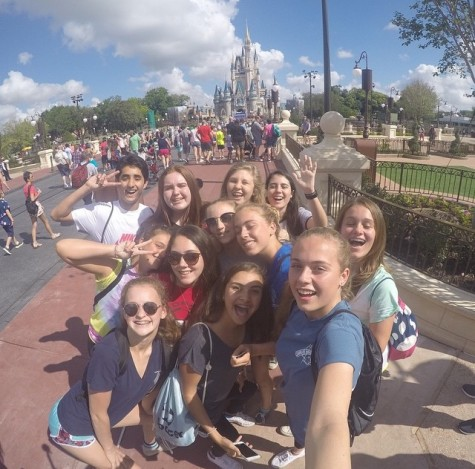 Some of the Class of 2018 enjoying last years trip to Magic Kingdom