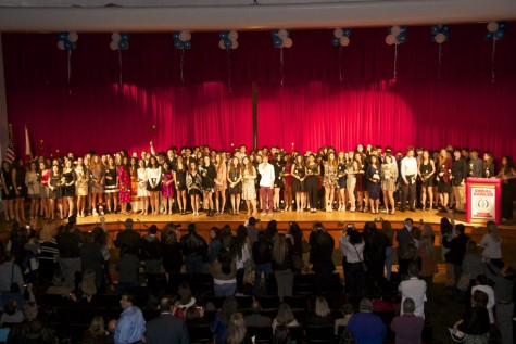 IB Class of 2017 Attend Annual Pinning