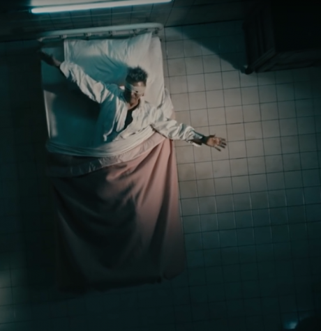 """Fans are haunted by the dark scenes depicted in the """"Lazarus"""" music video."""