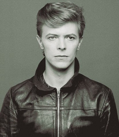 David Bowie during the prime of his career in the 1980's.