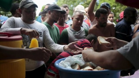 Thousands of Cubans stranded in the Costa Rican border waiting to be reunited with their family .