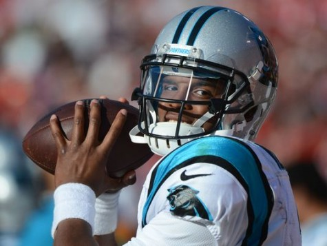 Panthers QB Cam Newton will do his best to try and get his team to the Super Bowl.