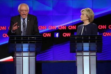 Encuentro de dos titanes en el último debate Demócrata