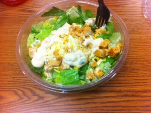 Salads are an easy alternative to unhealthy lunches.
