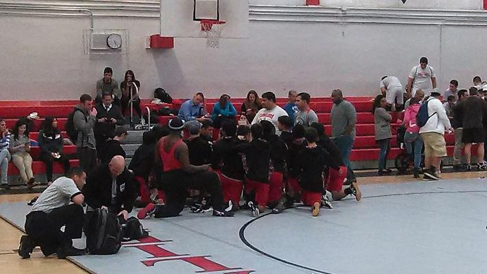 Gables' wrestling had a great night with a win at the Ransom Dual.
