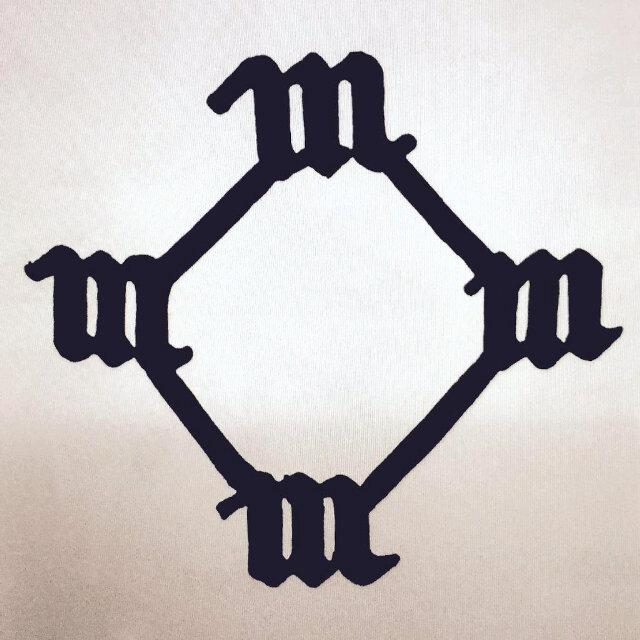 Kanye West's initial album cover for