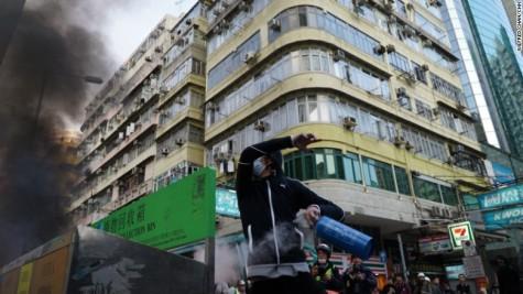 Lunar New Year Chaos in Hong Kong