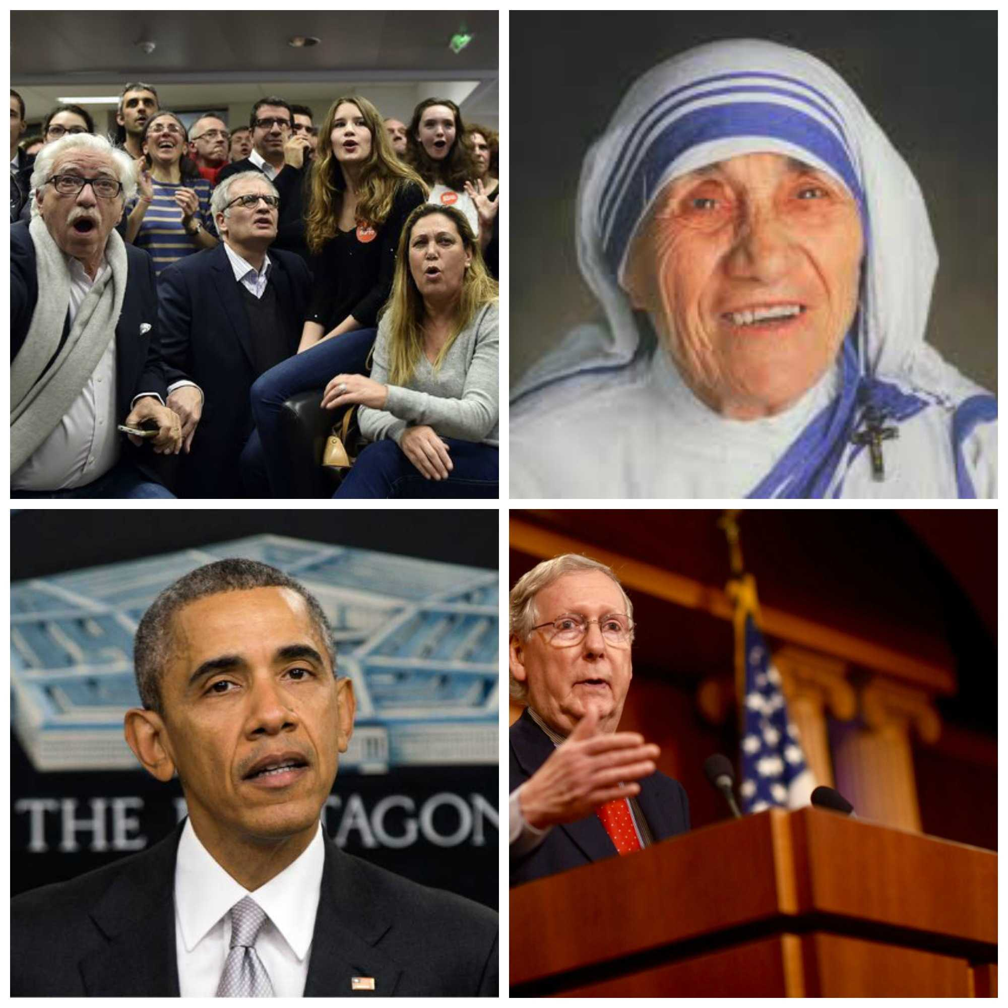 National Front Party loses in France, Mother Teresa to be a saint, US striking harder against ISIS, Congress budget approved and more in this week's recap.