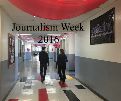 Students can explore journalism and Gables' publications during J-Week 2016.