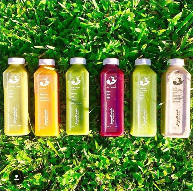 Don't have time to use the juicer? Just pick up a JugoFresh drink and your ready to go!