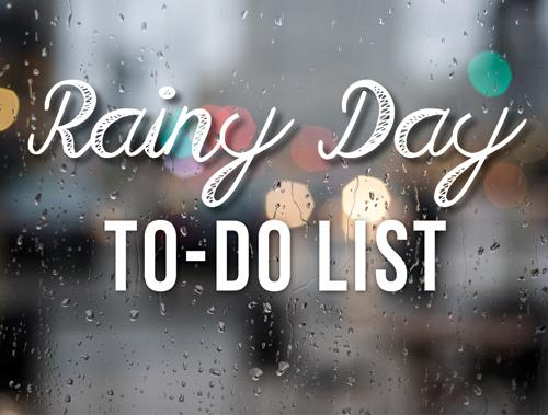 Don't let rain mess your day up, know what to do when it strikes.