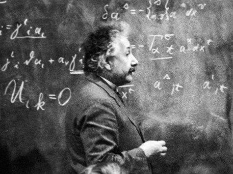 Einstein works on his theory of realtivity which is now proven.