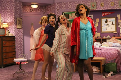The sleep over scene featured a surprise solo by Keke Palmer.