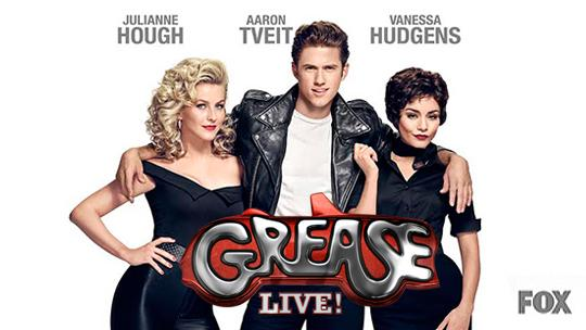 The poster for Grease: Live is similar to the original movie poster.
