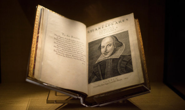 CavsConnect | Shakespeare's First Folio