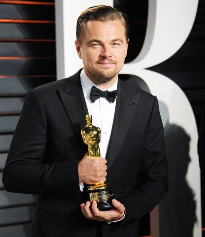 Leonardo DiCaprio left the Academy Awards with his first Oscar for Best Actor for The Revenant .