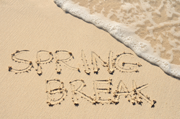 There are an endless option of inexpensive spring break activities!