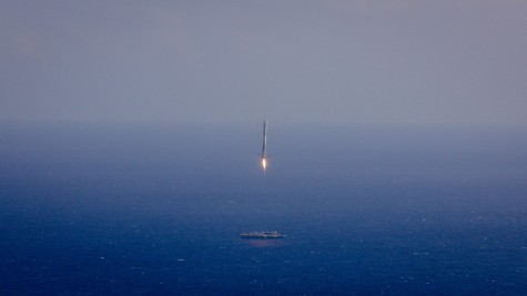 Space X Rocket Lands on a Boat