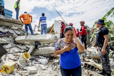Devastation came to Japan and Ecuador when they were both hit by earthquakes.