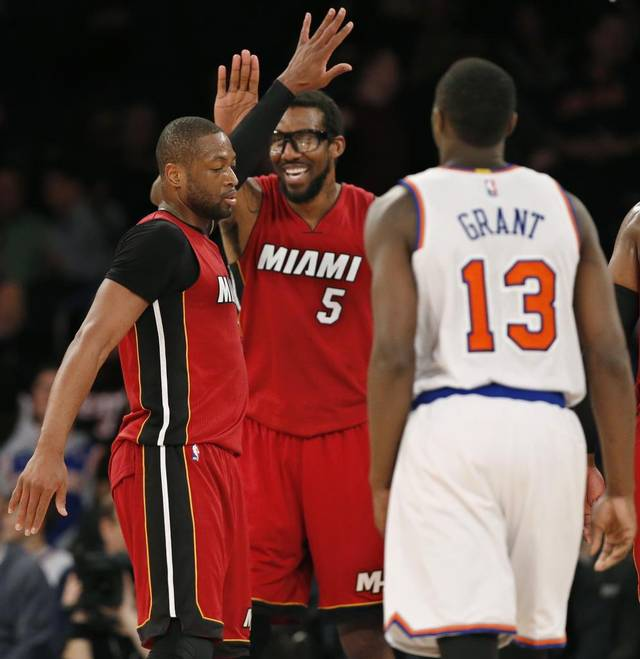 Hopefully, the Heat will finish their season on top of their conference