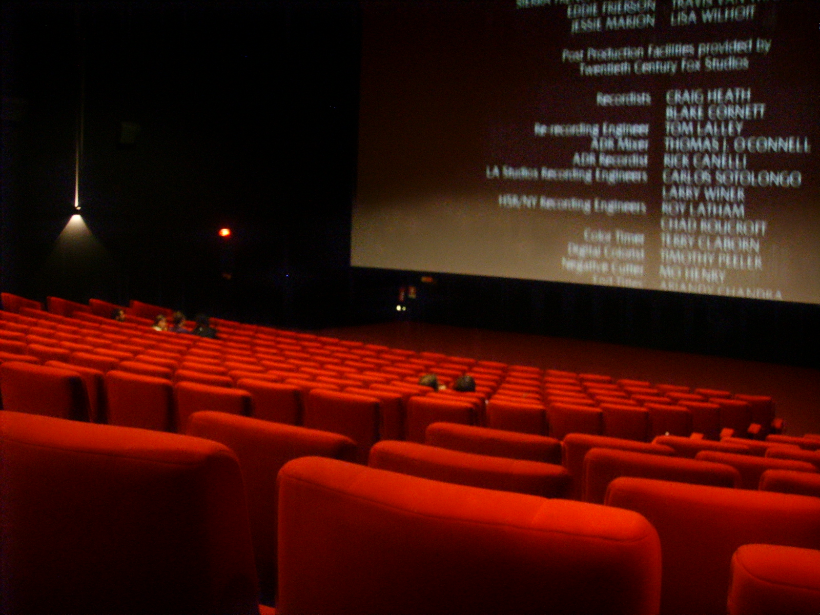 Going to the movies is a great way to spend a lazy summer day!