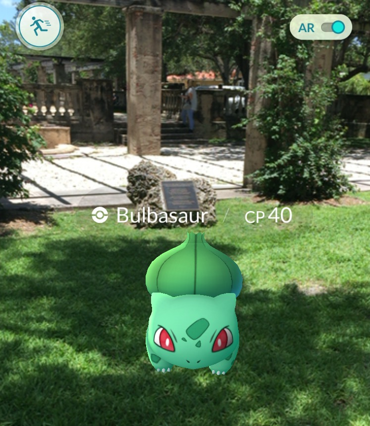 Pokémon like Bulbasaur are making their appearance in the real world with the launch of hit game Pokémon GO.