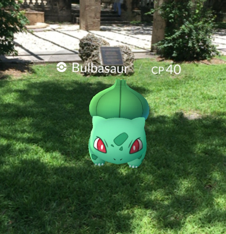 Pokémon like Bulbasaur are making their appearance in the real world with the launch of Pokemon Go.